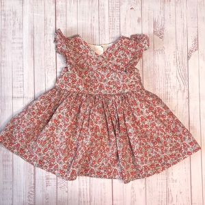 Baby GAP Flowered Cotton Sun Dress 6-12 Months